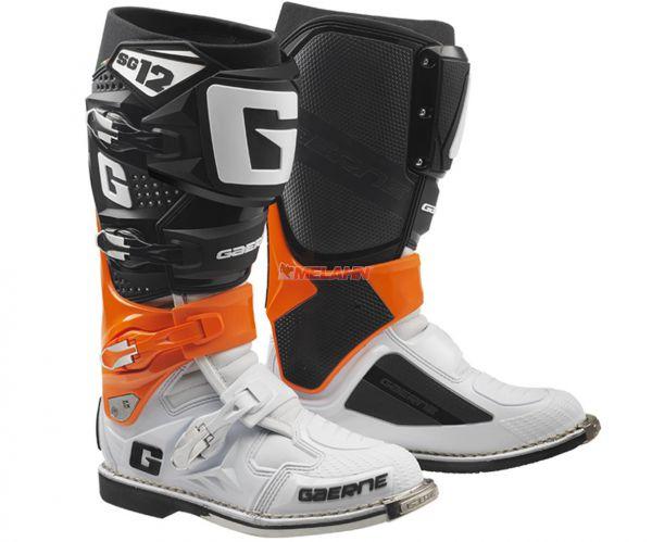 GAERNE Stiefel: SG 12, orange/schwarz/weiß