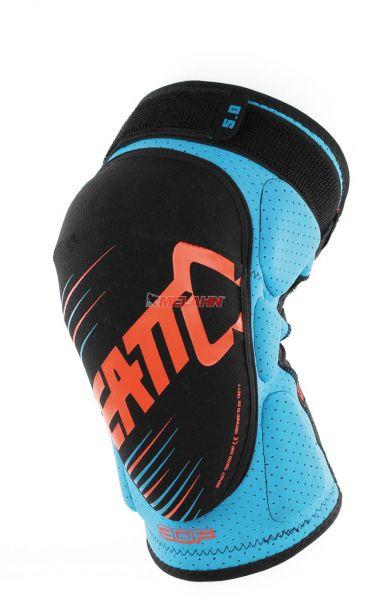 LEATT Knieprotektor (Paar): 3DF 5.0, blau