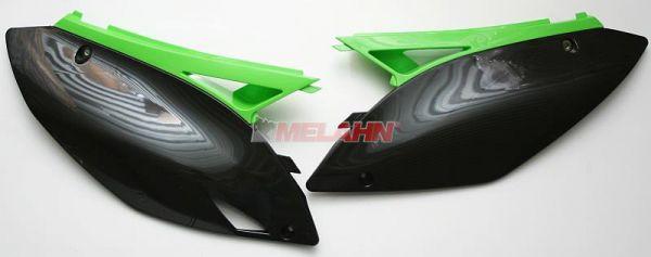 UFO Seitenteile (Paar) KXF 250 09-, weiß