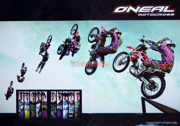 ONEAL Poster Backflip (59x42cm), gefaltet
