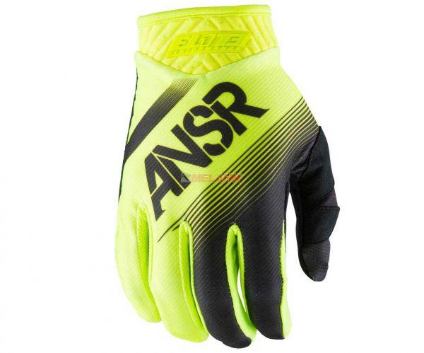 ANSWER Handschuh: Elite, schwarz/neon-gelb