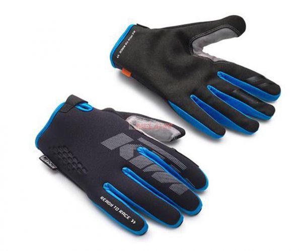 KTM Handschuh: Hydroteq, schwarz/blau