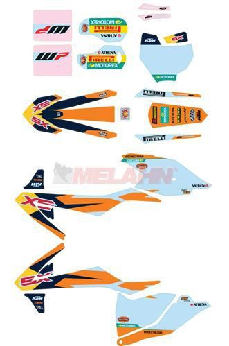 KTM Dekor-Kit Factory, 85 SX 18-
