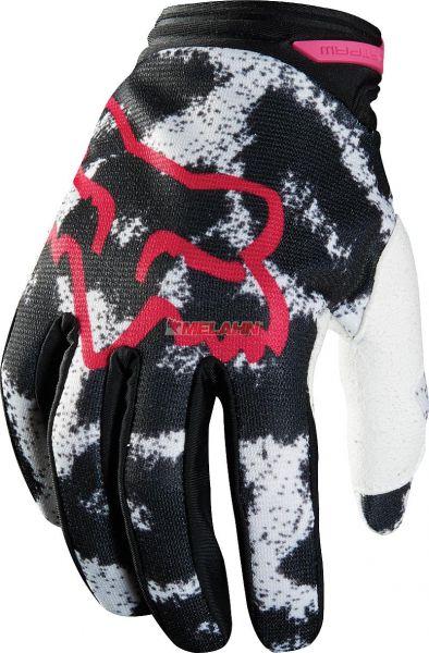 FOX Girls Handschuh: Dirtpaw Print, sw/pink