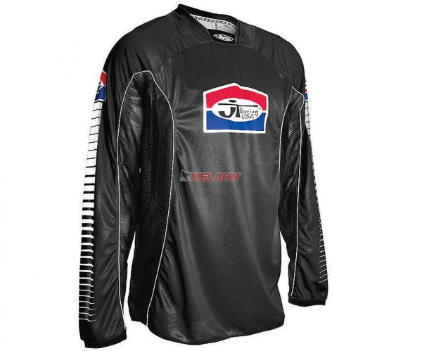 JT-RACING Hemd: Pro Tour, schwarz/weiß