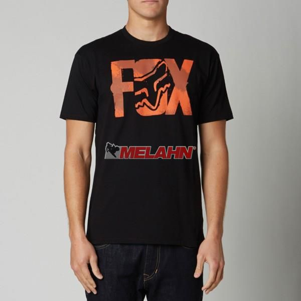 FOX T-Shirt: Lurching, schwarz