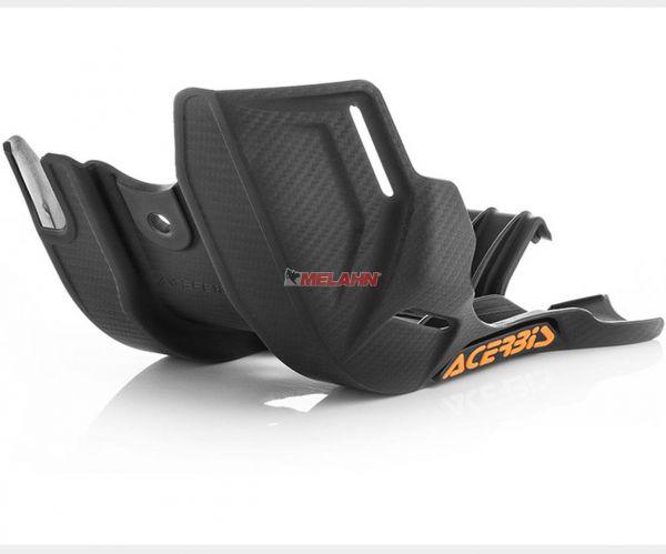 ACERBIS Kunststoff-Motorschutz klein, schwarz, HVA TC 85 14-17 / KTM 85 SX 13-17