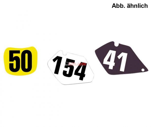 BLACKBIRD Starttafelaufkleber-Set SX 125-525 04-06, weiß