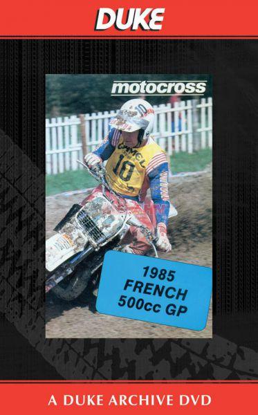 DVD: MX WM 500ccm von 1985, France