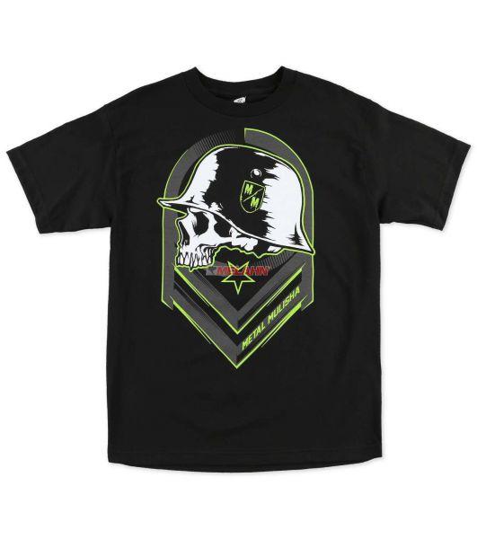 METAL MULISHA T-Shirt: Rival, schwarz