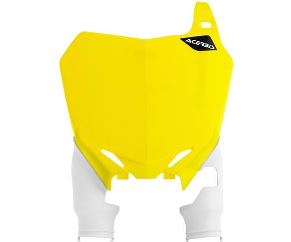 ACERBIS Starttafel: Raptor, gelb/weiß, RMZ 250 10- / 450 08-17