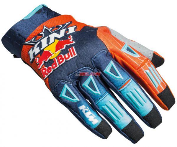 KINI-Red Bull Handschuh: Competition, blau/orange