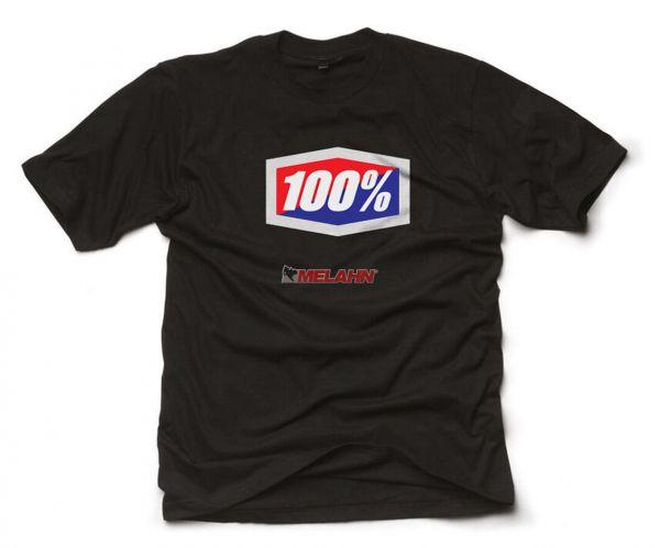 100% T-Shirt: Official, schwarz