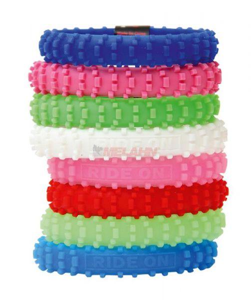 DIRTBOY Armband: MX, blau