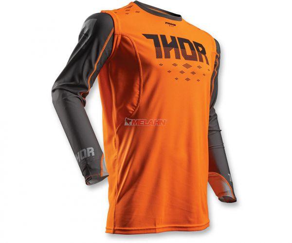 THOR Jersey: Prime Fit Rohl, orange/grau