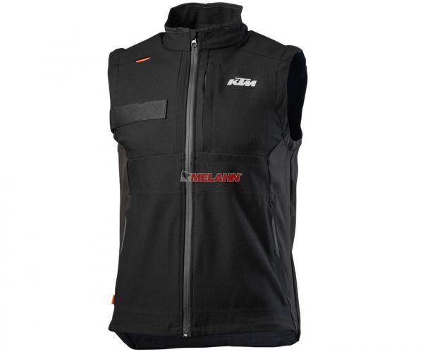 KTM Weste: Enduro Vest, schwarz