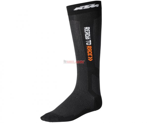 KTM Socke (Paar): Air, schwarz