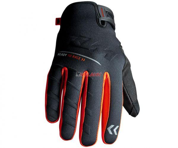 KTM Handschuh: Racetech WP, schwarz/orange