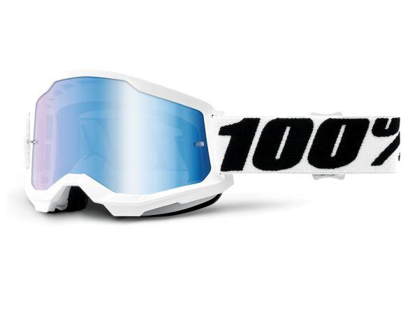 100% Brille: Strata 2 Everest, weiß/schwarz