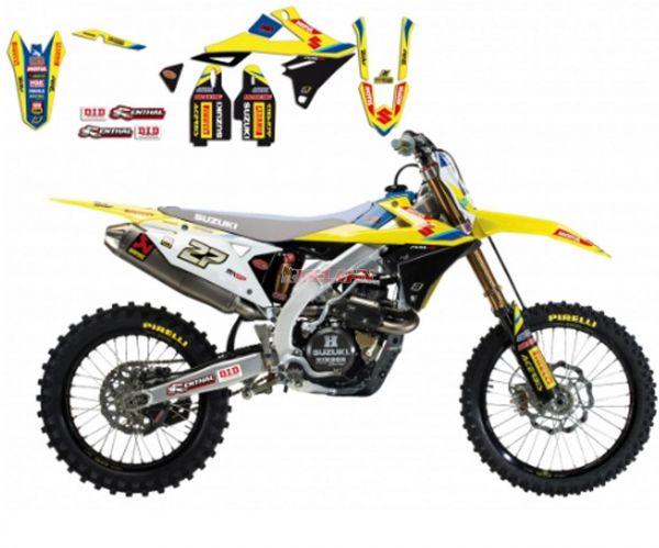 BLACKBIRD Replica-Kit: World MX GP, RMZ 250 19- / 450 18-