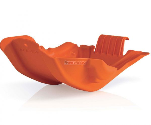 ACERBIS Kunststoff-Motorschutz groß, orange, 450 SX-F 13-15