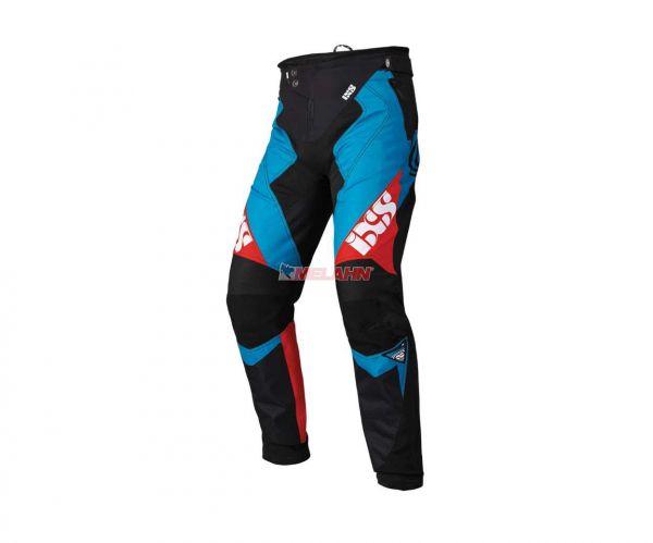 IXS Bike-Hose: Vertic 6.2, blau/rot