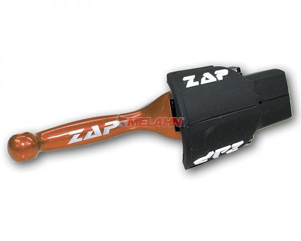 ZAP Flex-Handbremshebel SX/EXC 00-12, FE/FX/TE 05-13, orange