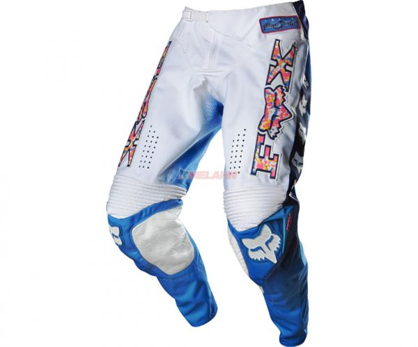 FOX Hose: 360 Image Limited Edition Daytona, weiß/blau