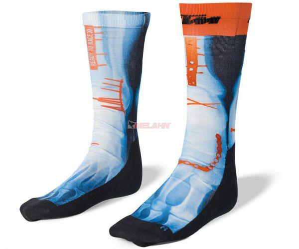 KTM Socke (Paar): Radical Socks, schwarz/blau