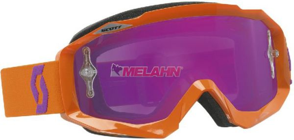 SCOTT Brille: Hustle MX, verspiegelt, orange