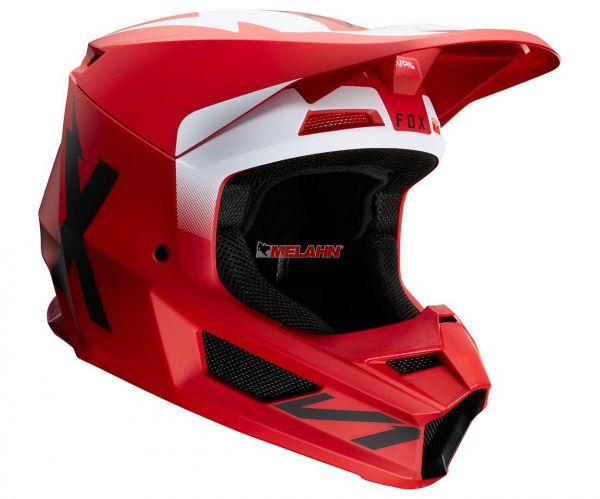 FOX Helm: V1 Werd, rot