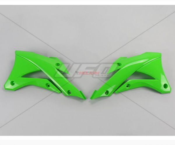 UFO Spoiler (Paar) Kühlerverkleidung KX 85 14-, grün05
