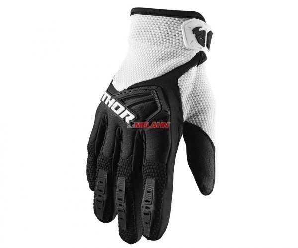THOR Handschuh: Spectrum, schwarz/weiß