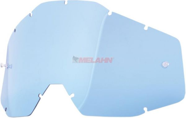 100% Ersatzglas, blau