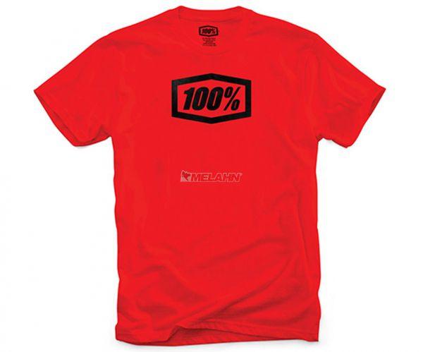 100% T-Shirt: Essential, rot