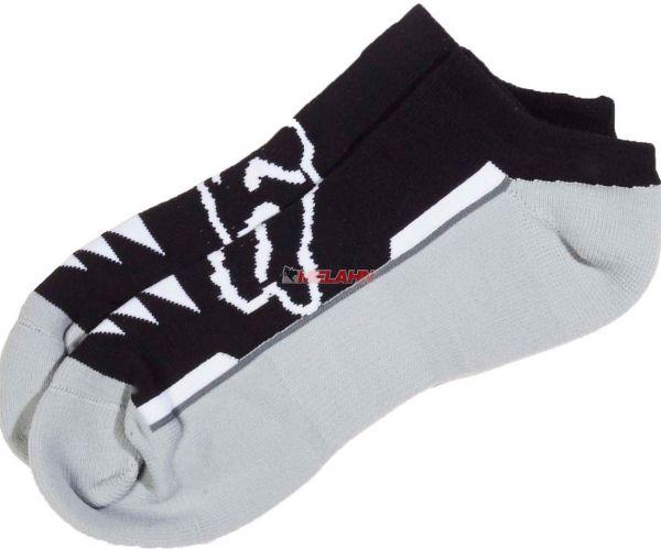 FOX Socke (3er Pack): Perf No Show, schwarz