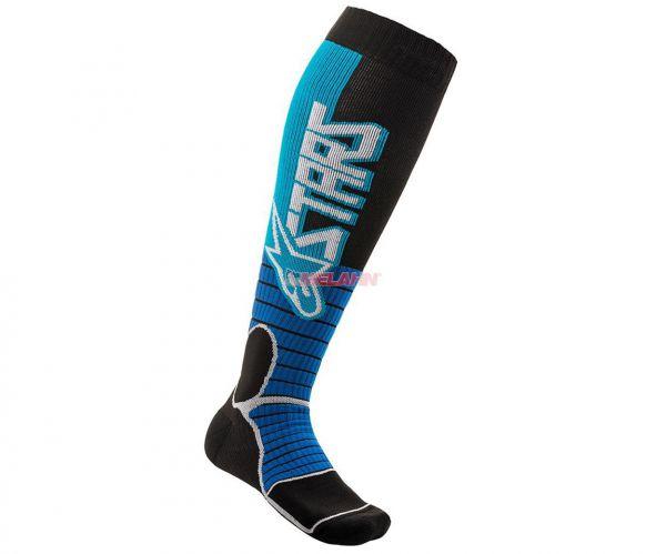 ALPINESTARS Socke (Paar): MX Pro, blau