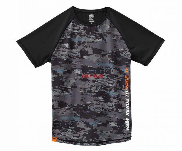 KTM Funktions T-Shirt: Emphasis, schwarz/grau
