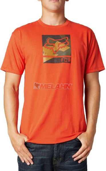 FOX T-Shirt: Grisler, orange