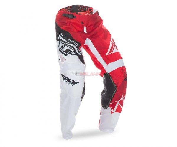 FLY Hose: Crux, rot/weiß