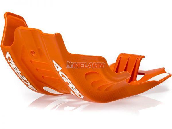 ACERBIS Kunststoff-Motorschutz groß, orange, 450/500 EXC-F 17-