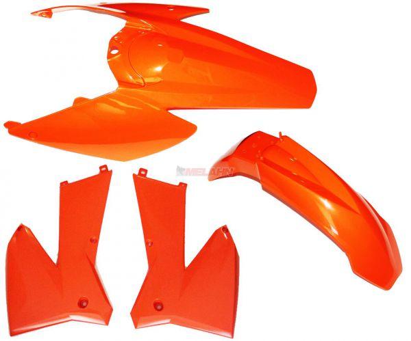 ACERBIS Plastik-Kit SX/EXC 05-07, orange