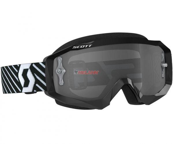 SCOTT Hustle MX Goggle Motocross MTB MX Cross Enduro Brille, schwarz, Glas selbsttönend