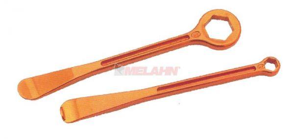 KTM Montierhebel-Set, orange