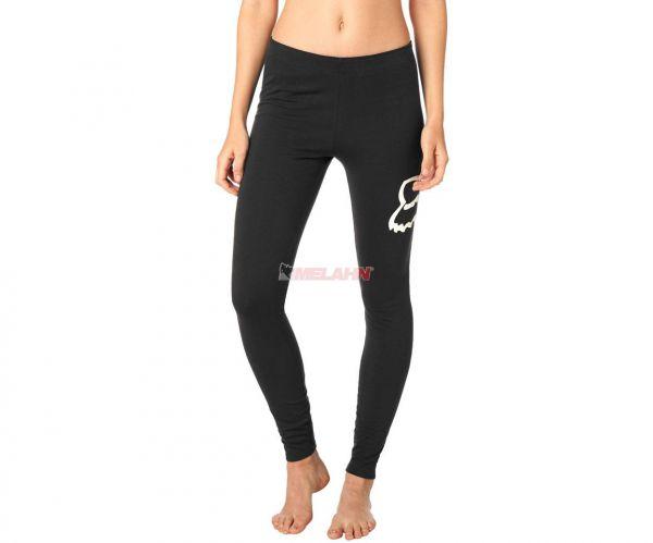 FOX Girls Hose: Enduration Legging, schwarz/weiß