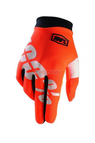 100% Handschuh: I-Track, orange