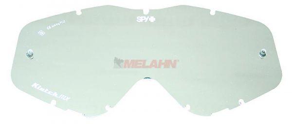 SPY Spiegelglas mit Pins Klutch/Whip/Targa3, silber