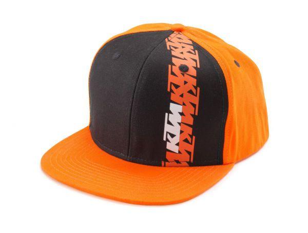 KTM Cap: Radical, orange/schwarz