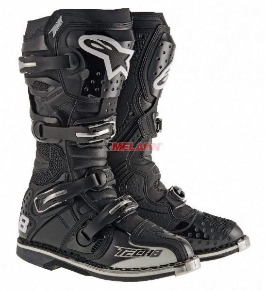 ALPINESTARS Stiefel: Tech 8 RS, schwarz