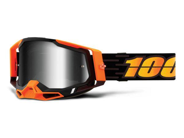 100% Brille: Racecraft 2 Costume 2, schwarz/orange